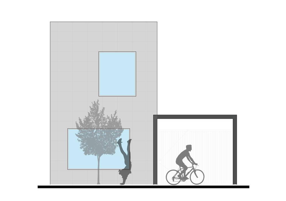 CASA L : Casas de estilo  por ODRACIR,