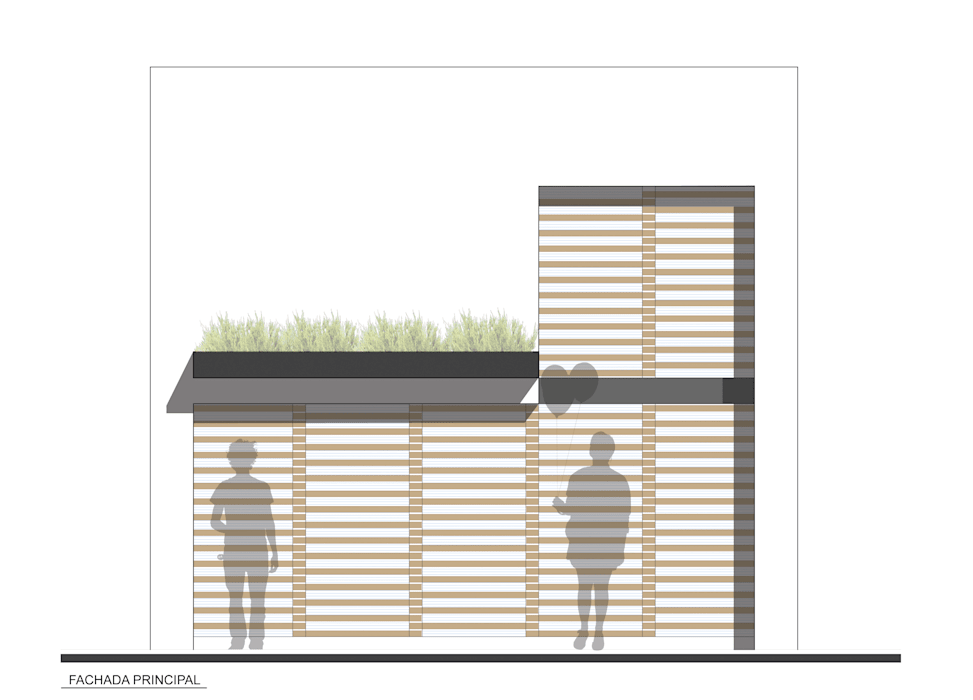 CASA TAR: Casas de estilo  por ODRACIR, Moderno