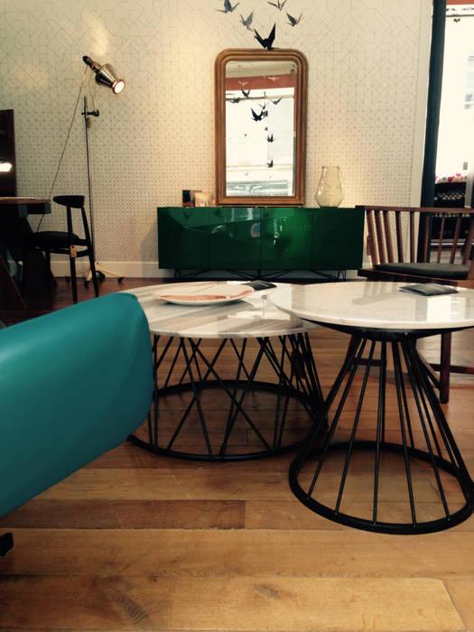 Vert Emeraude Salon De Style Par Demesure Homify
