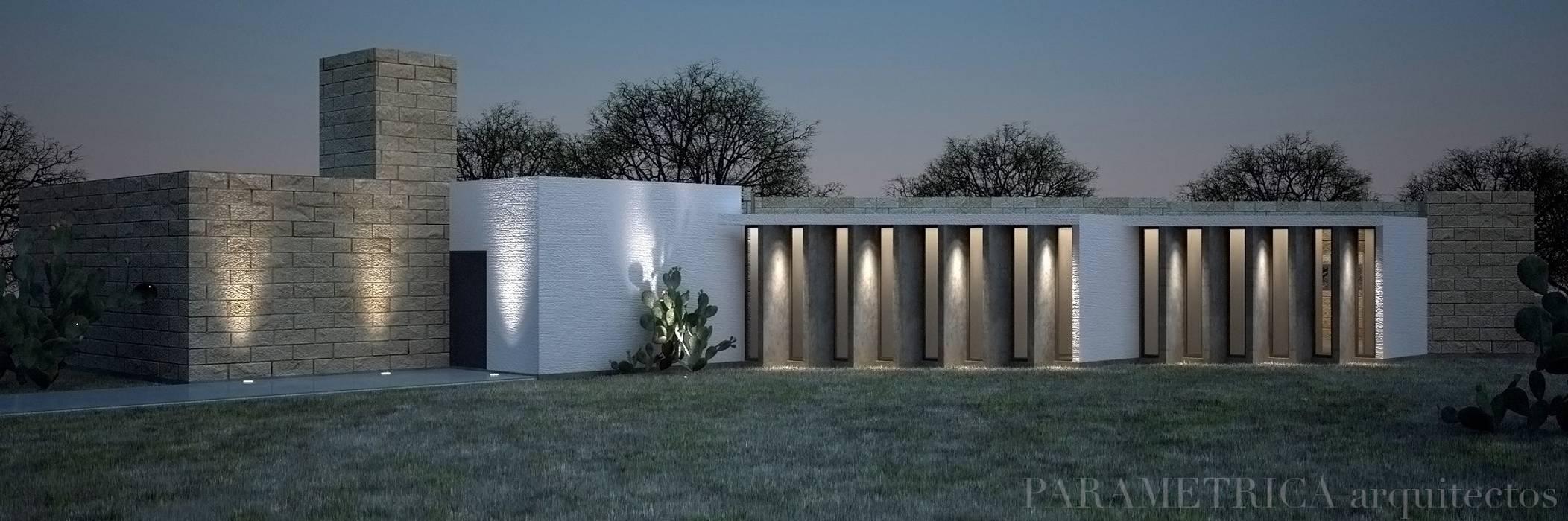 Maisons de style  par Paramétrica Arquitectos, Rural