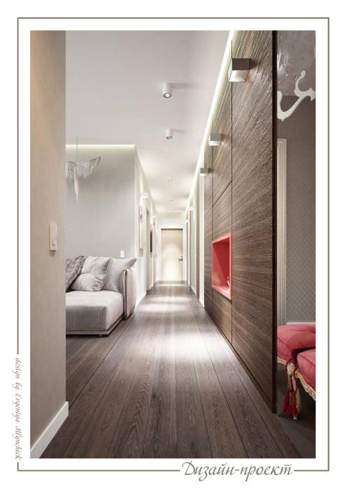 에클레틱 복도, 현관 & 계단 by mlynchyk interiors 에클레틱 (Eclectic)