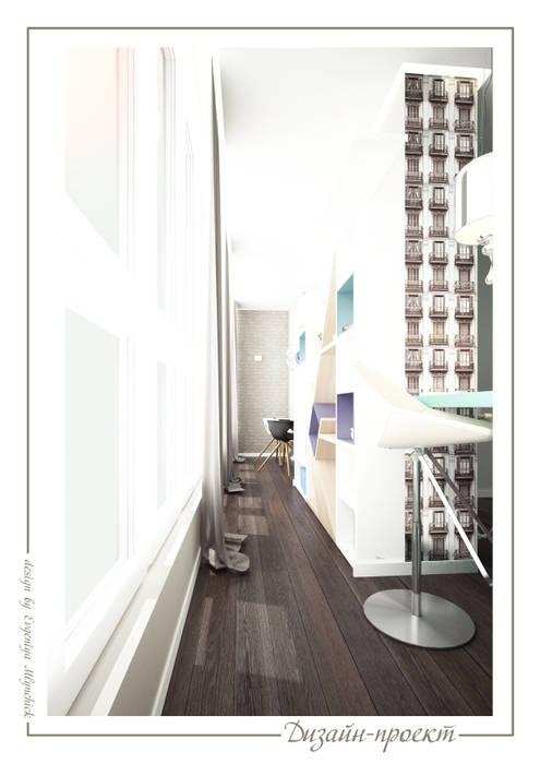 Terrasse de style  par mlynchyk interiors , Éclectique