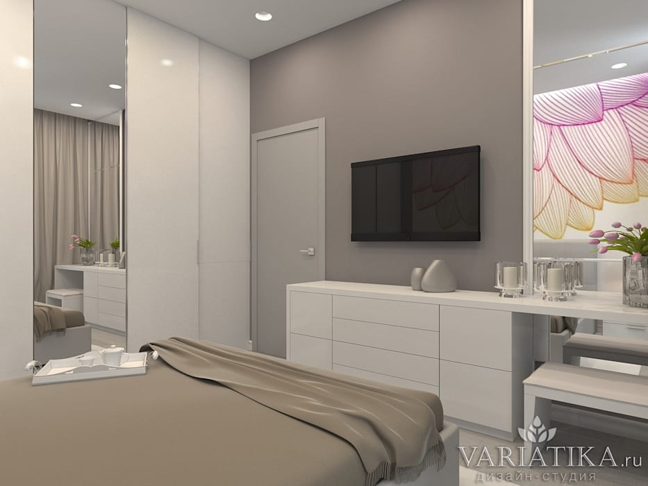 Bedroom by variatika, Minimalist