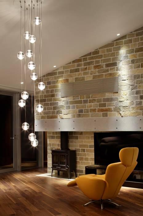 Salon moderne par Mアーキテクツ|高級邸宅 豪邸 注文住宅 別荘建築 LUXURY HOUSES | M-architects Moderne