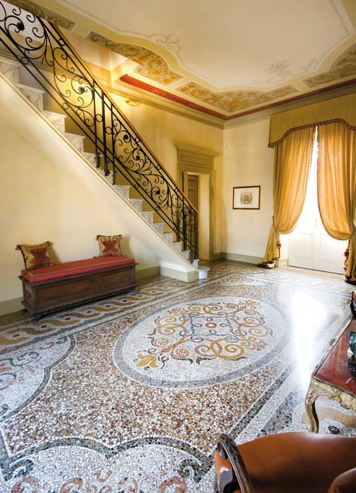 Paredes y pisos de estilo clásico de vigo mosaici s.n.c Clásico