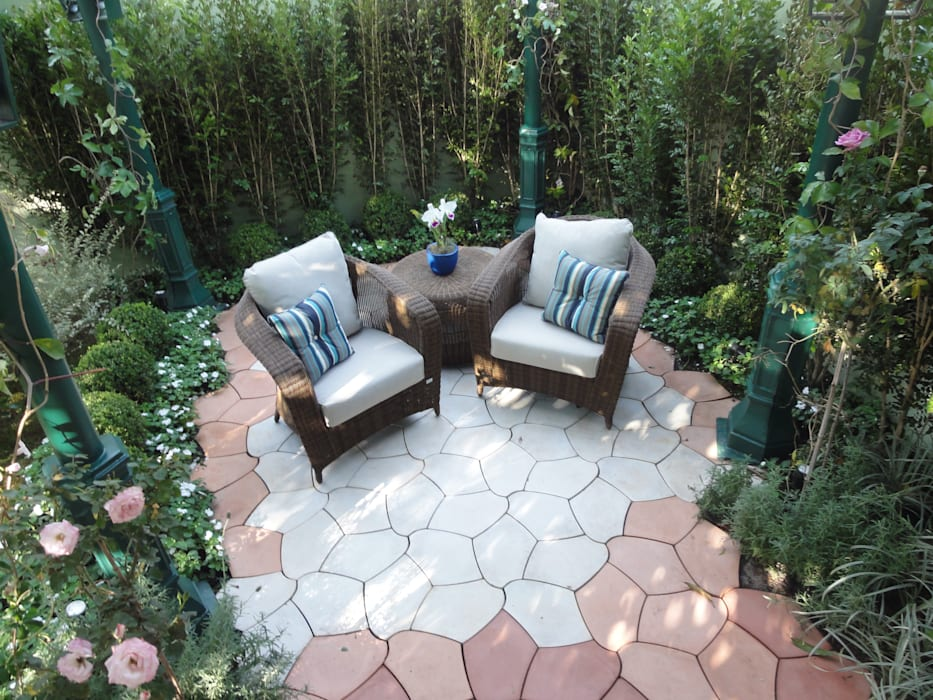 homify Classic style garden