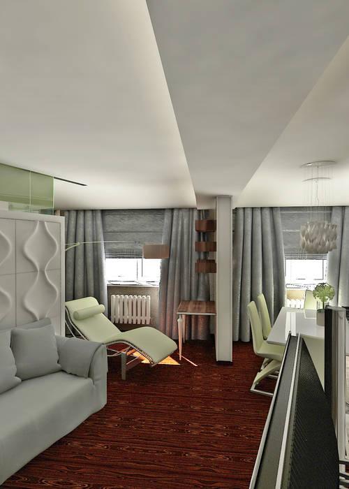 Частный архитектор, дизайнер Livings de estilo minimalista