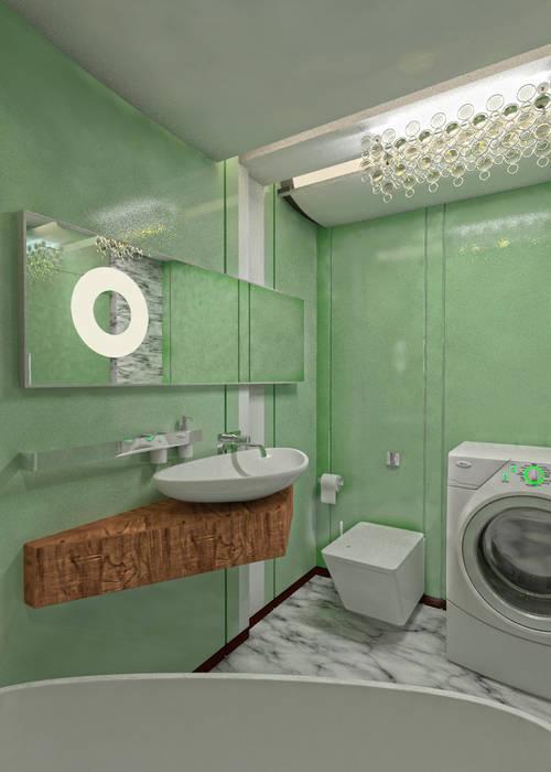 Baños de estilo minimalista de Частный архитектор, дизайнер Minimalista