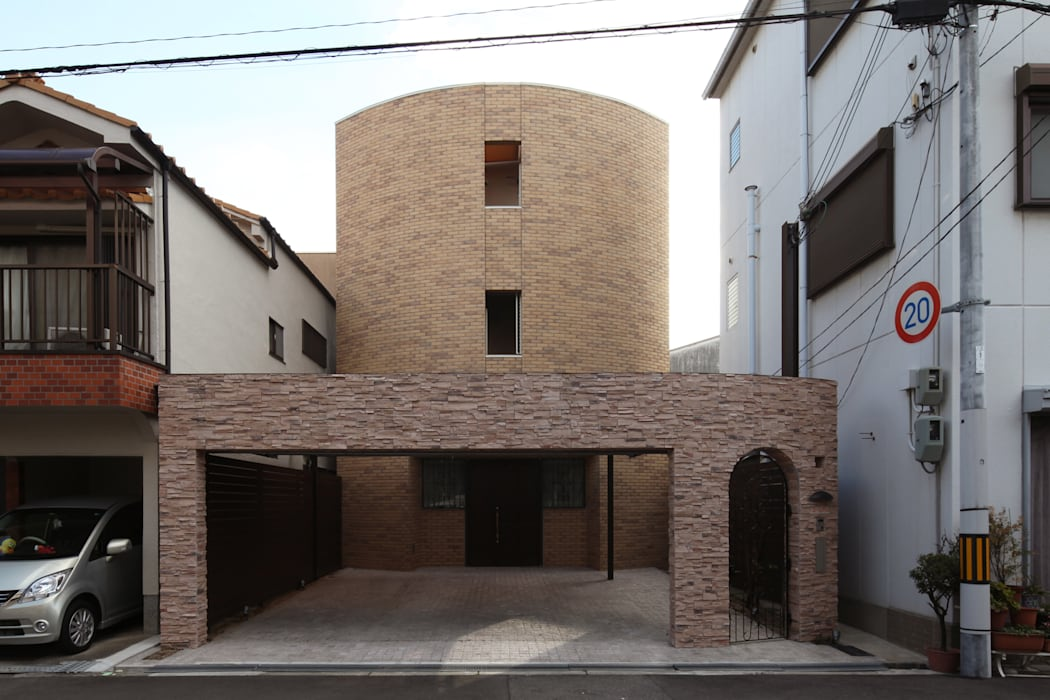 一級建築士事務所アトリエm Casas de estilo clásico Ladrillos