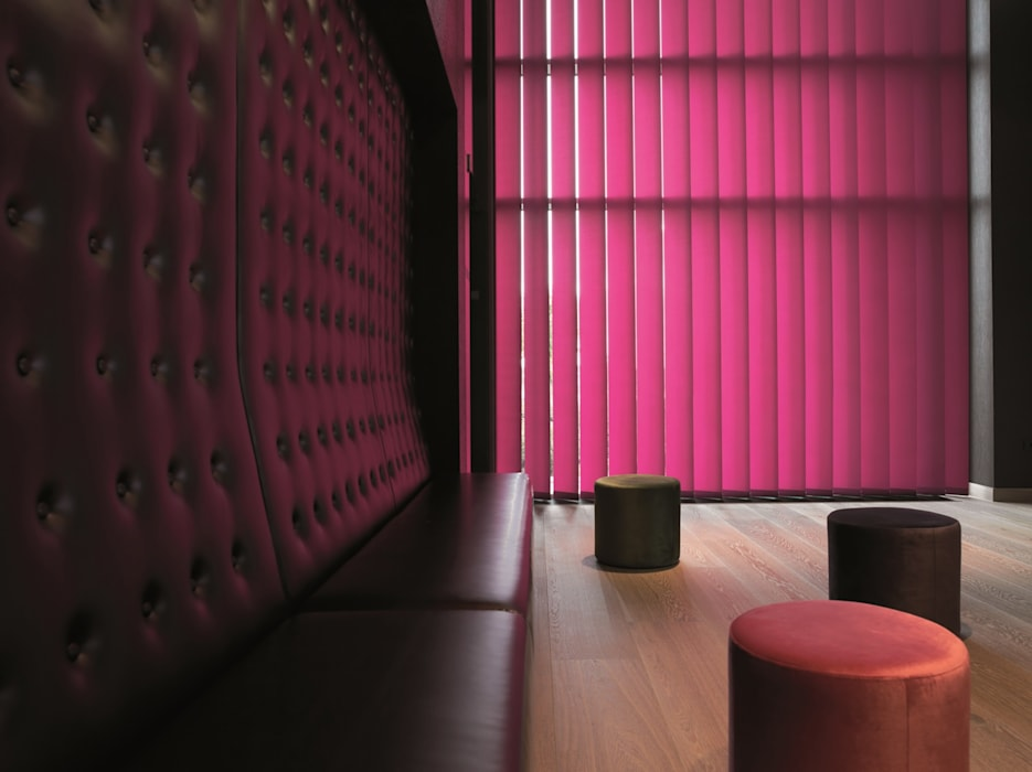 Rollomeister Windows & doors Curtains & drapes Pink