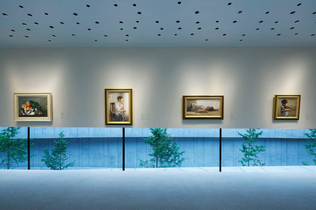 Nikken Sekkei Ltd Museums Paper White
