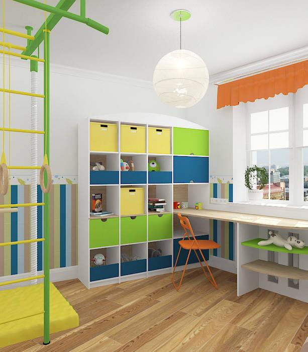 Mediterranean style nursery/kids room by Design Rules Mediterranean