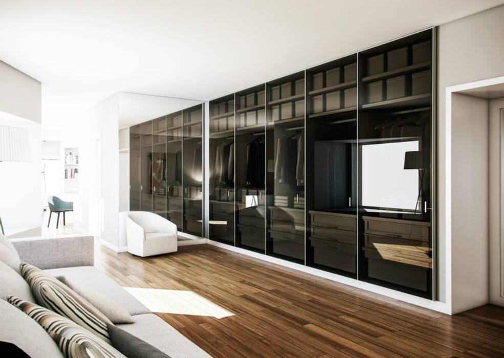 Ruang Ganti oleh Vilaça Interiores, Modern