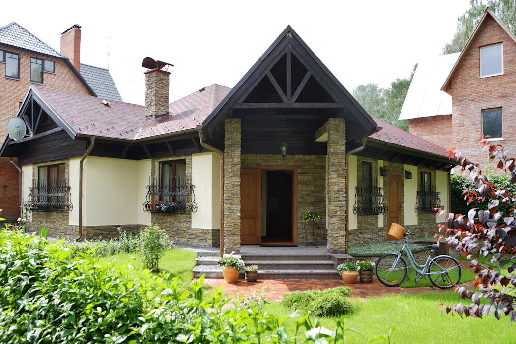 Rustic style house by RRdesign Rustic
