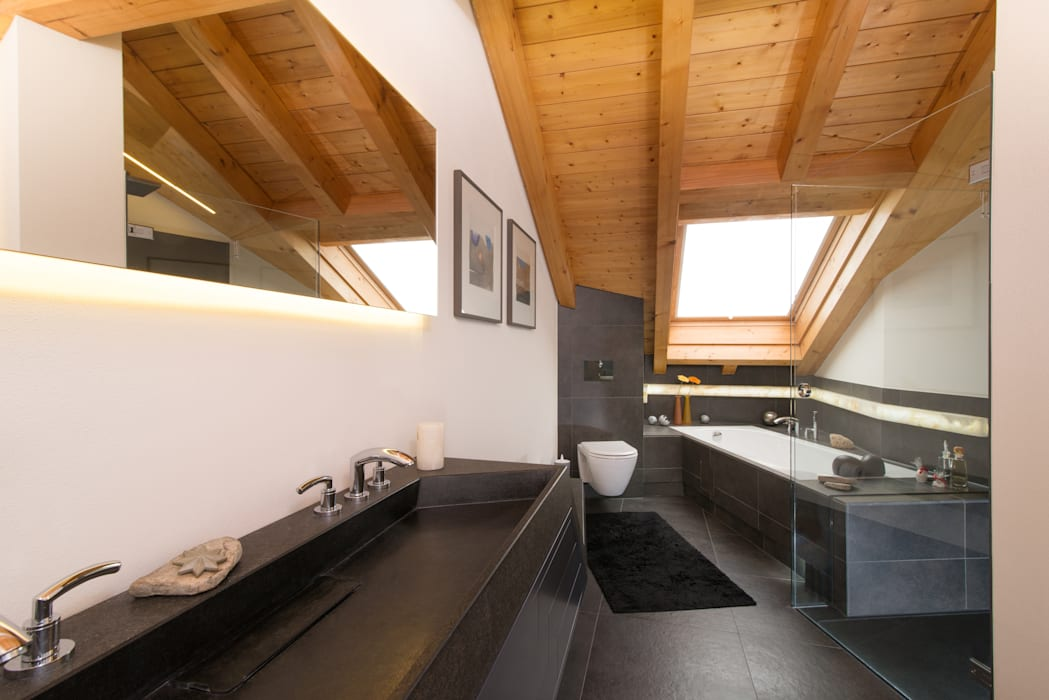 Nowoczesna łazienka od archiall2 Nowoczesny