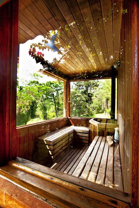 根據 Bianka Mugnatto Design de Interiores 田園風
