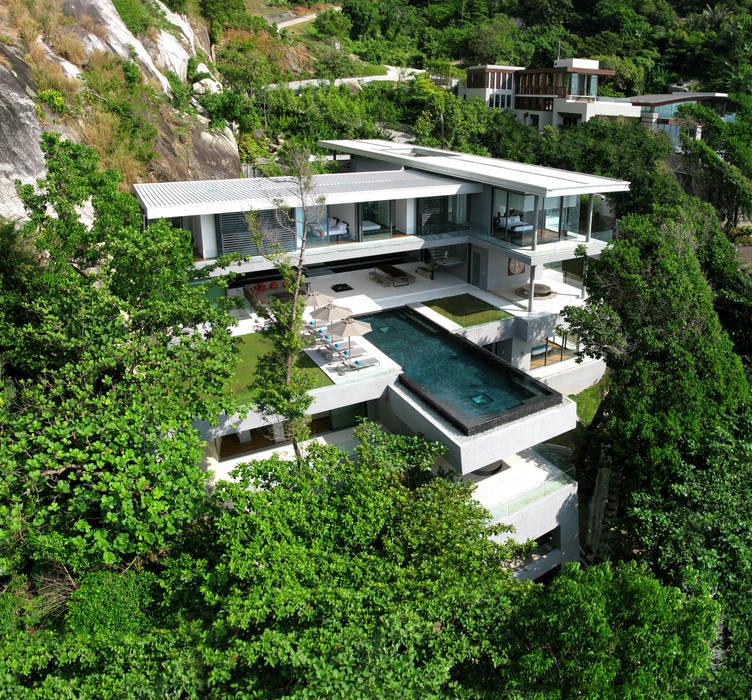 Villa Amanzi Modern houses by Original Vision Modern
