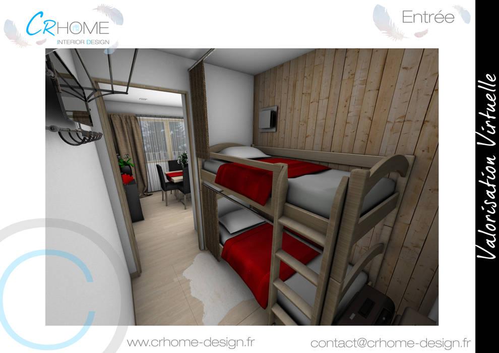 Entrée: Couloir et hall d'entrée de style  par Crhome Design