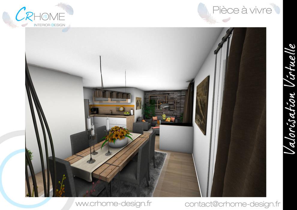 Salle à manger: Salle à manger de style de style Moderne par Crhome Design