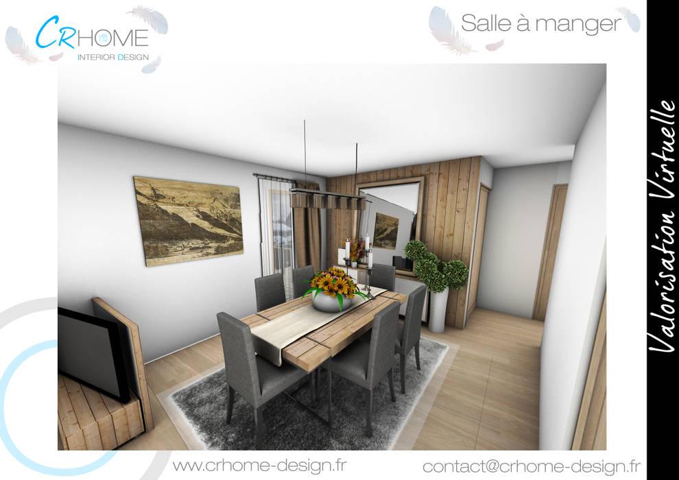 Salle a manger: Salle à manger de style  par Crhome Design