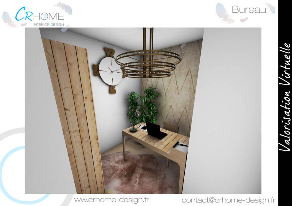 Bureau : Bureau de style de style Moderne par Crhome Design