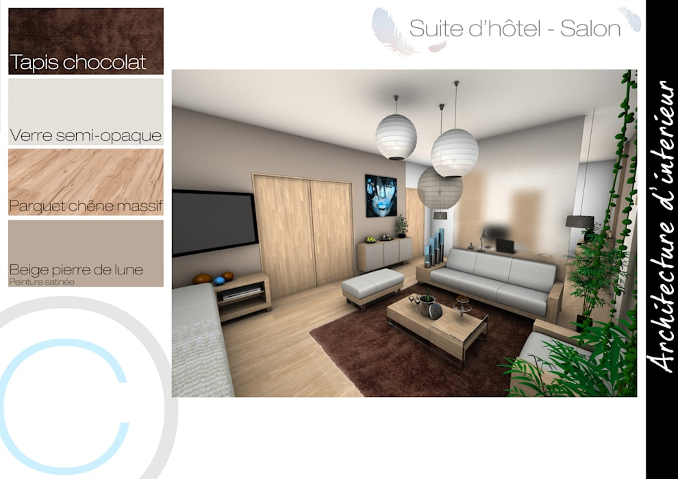 Salon: Chambre de style de style Scandinave par Crhome Design