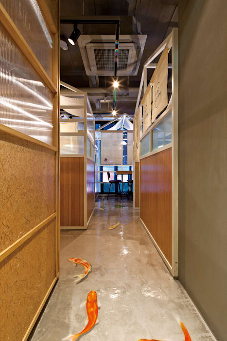 FRIENDS DESIGN: FRIENDS DESIGN의  상업 공간