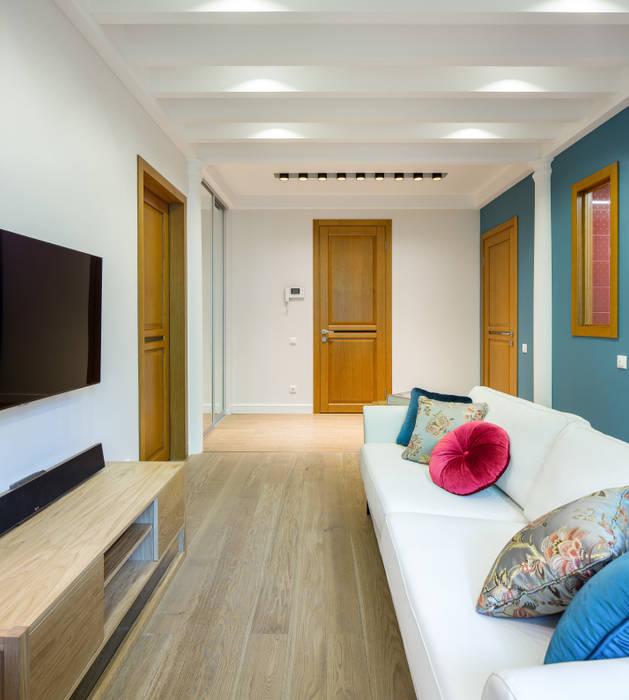 Дизайн-студия 'Вердиз' Mediterranean style living room