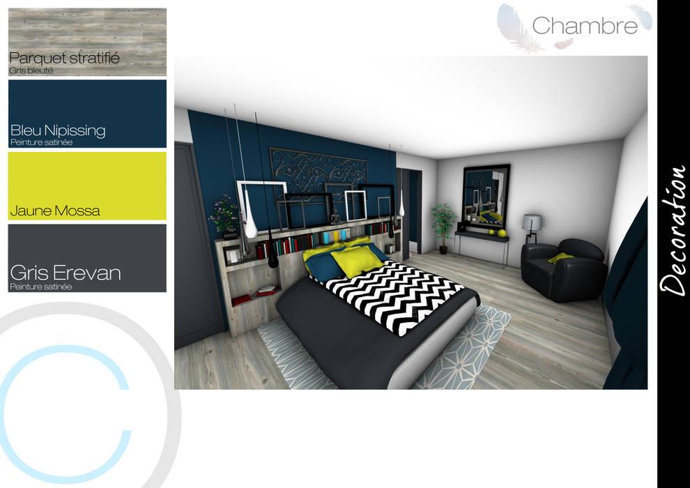 Chambre: Chambre de style de style eclectique par Crhome Design