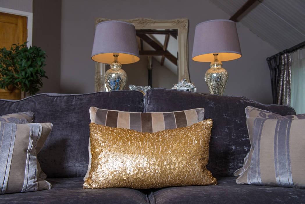 Salon de style  par Heather Interior Design,
