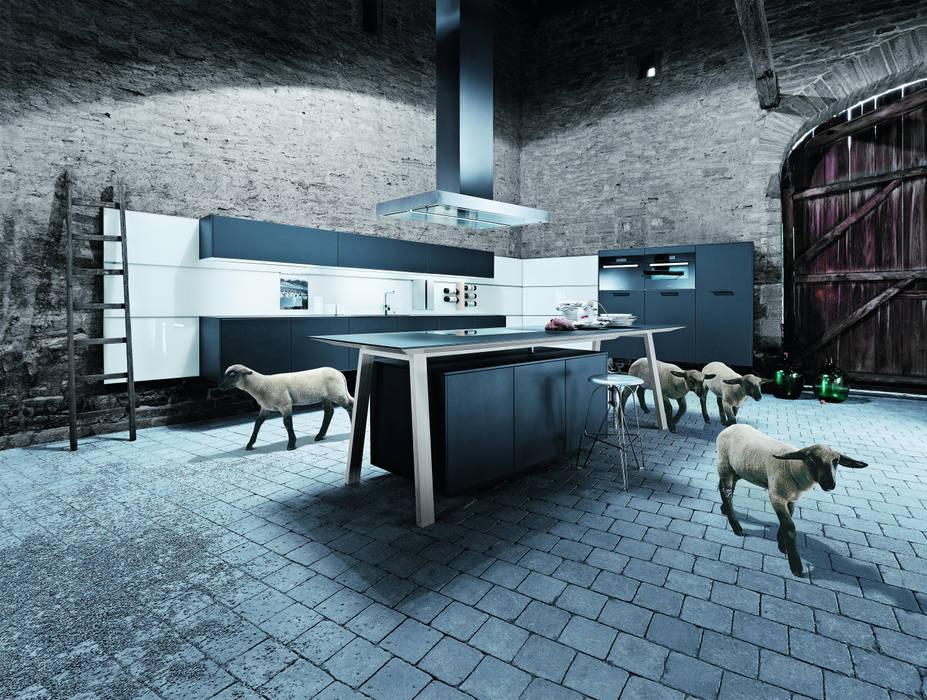 Een kooktafel als kookeiland Moderne keukens van Tinnemans Keukens Modern