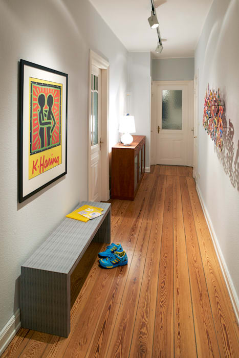 Modern Corridor, Hallway and Staircase by Stockhausen Fotodesign Modern