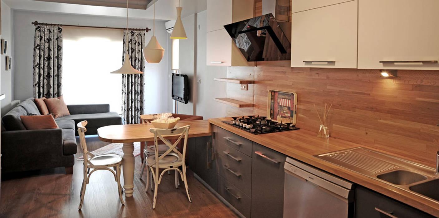 Cocinas de estilo  de Bilgece Tasarım, Moderno