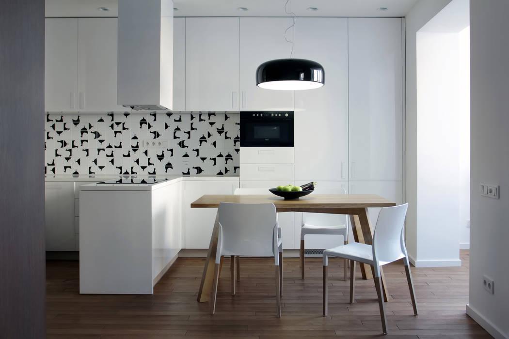 Cocinas de estilo escandinavo de Lugerin Architects Escandinavo