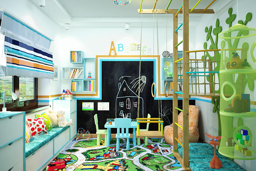 Nursery/kid's room by Студия дизайна Interior Design IDEAS