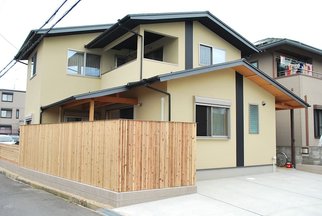 Rumah oleh 西川真悟建築設計, Modern