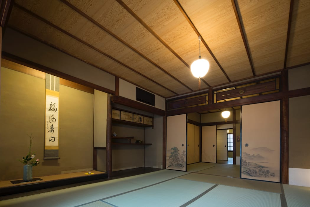 Living room by 一級建築士事務所 (有)BOFアーキテクツ,