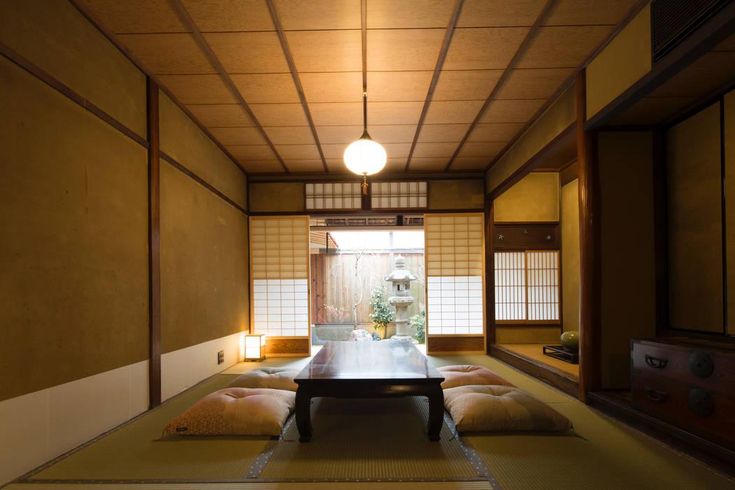 一級建築士事務所 (有)BOFアーキテクツ Livings de estilo asiático