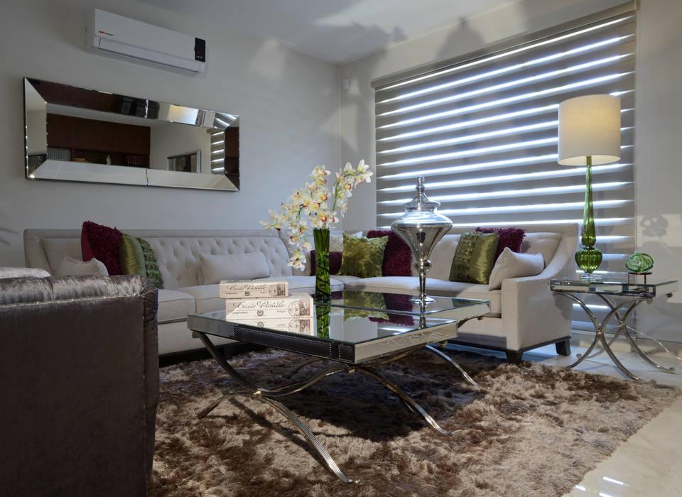 Sala de Estudio Casa GL Salones eclécticos de homify Ecléctico Textil Ámbar/Dorado