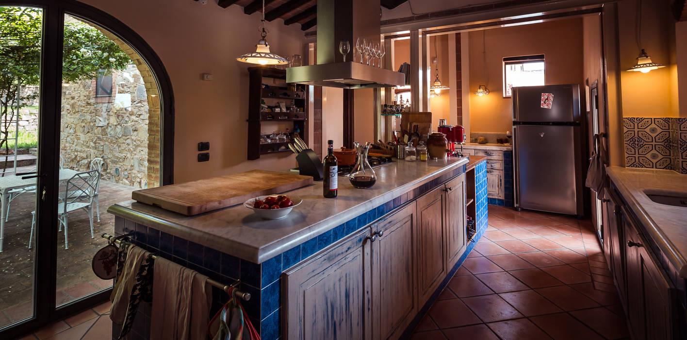 Stile toscano: cucina in stile di studio fotografico di david butali ...