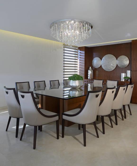 Comedor Casa GL : Comedores de estilo  por VICTORIA PLASENCIA INTERIORISMO, Moderno Madera Acabado en madera