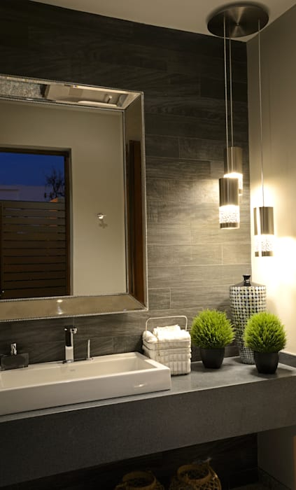 Baño de terraza Casa GL Baños modernos de homify Moderno Granito
