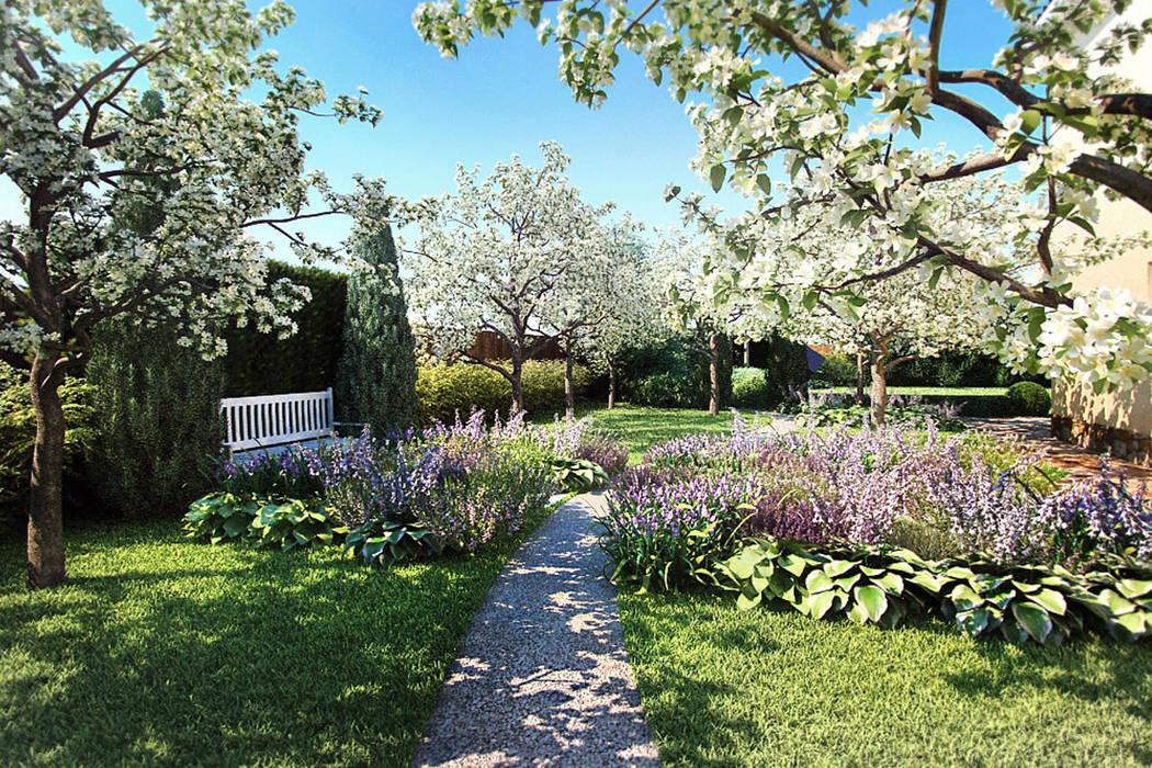 Плодовый сад Сад в средиземноморском стиле от Руслан Михайлов rmgarden Средиземноморский