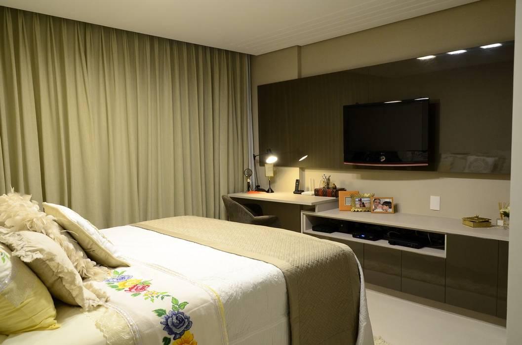 Bedroom by Giovana Martins Arquitetura & Interiores, Modern
