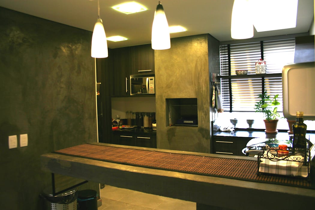 Кухни в . Автор – Moradaverde Arquitetura, Модерн