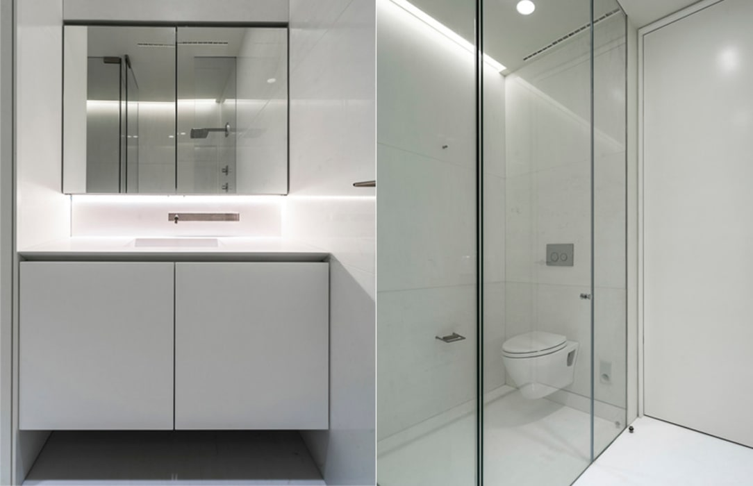 ST. REGIS 2301: Baños de estilo  por TENTER Arquitectura y Diseño,