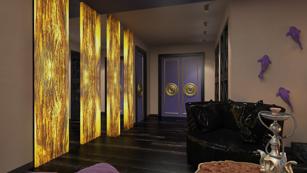 Salas multimedias de estilo  por Katerina Butenko, Ecléctico