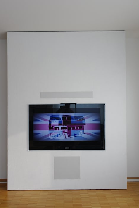 Tv wand: modern von ante,modern holz-kunststoff-verbund | homify