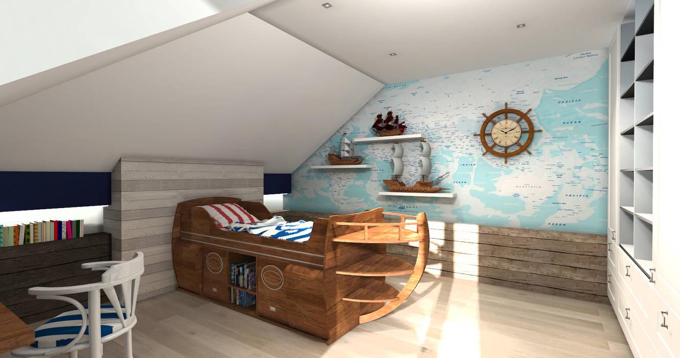 Pokój Marynarza od ArtDecoprojekt Nowoczesny