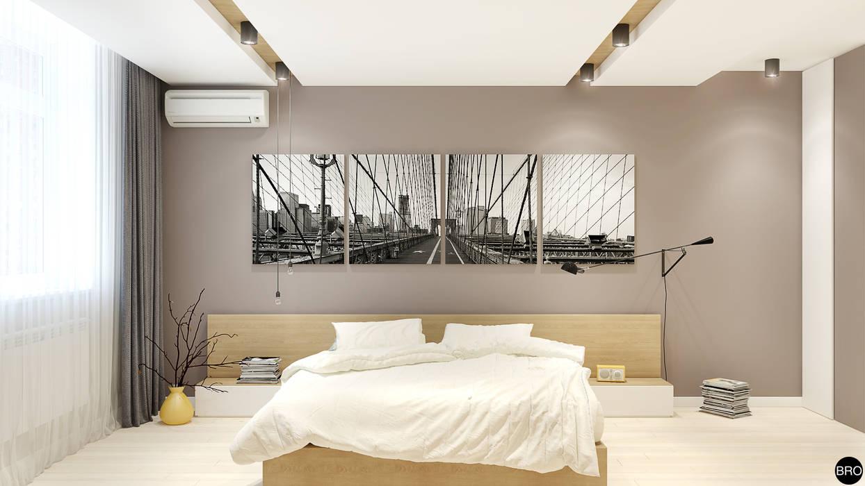 Chambre de style  par BRO Design Studio,
